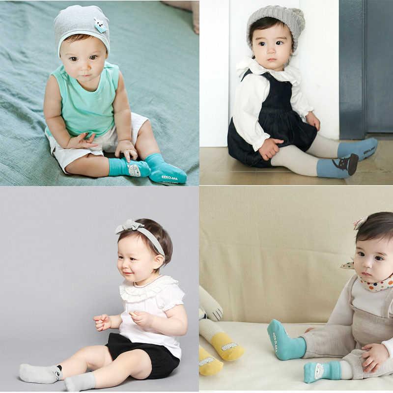 2018 Cotton Newborn Baby Socks for Autumn Winter Length Thick Calcetines Floor Children's Socks for Newborns Ankle Sock 0-4 Year