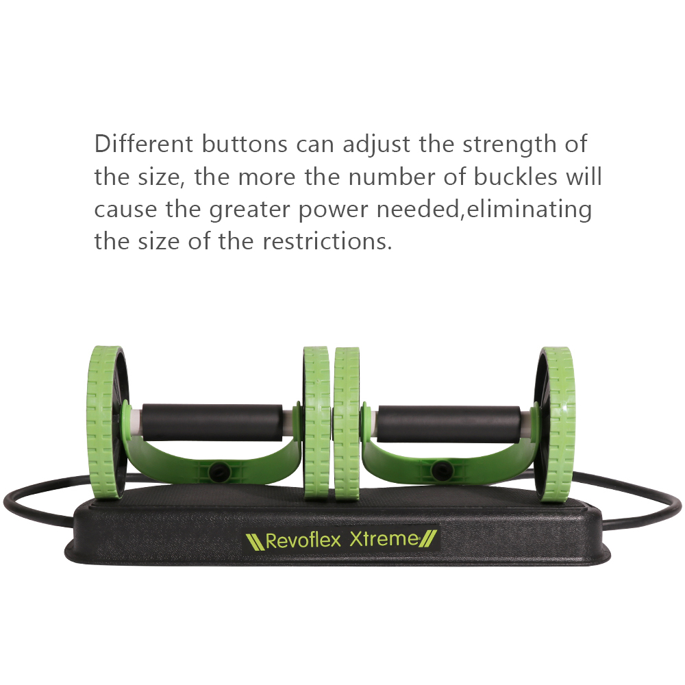 BLUERISE Multi Function Abs Roller as Training Apparatus and Gym Equipment for Fitness and Exercise 2
