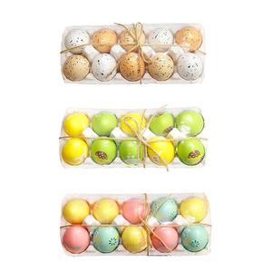 6Pcs/Lot Colorful Easter Eggs