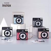 5 Colors Fujifilm Instax SQUARE SQ6 Instant Film Photo Camera Blush Gold Graphite Gray Pearl White Ruby red
