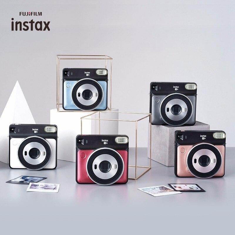 5 couleurs Fujifilm Instax CARRÉ SQ6 Instantanée Film appareil photo Blush Or Graphite Gris Perle Blanc Ruby rouge