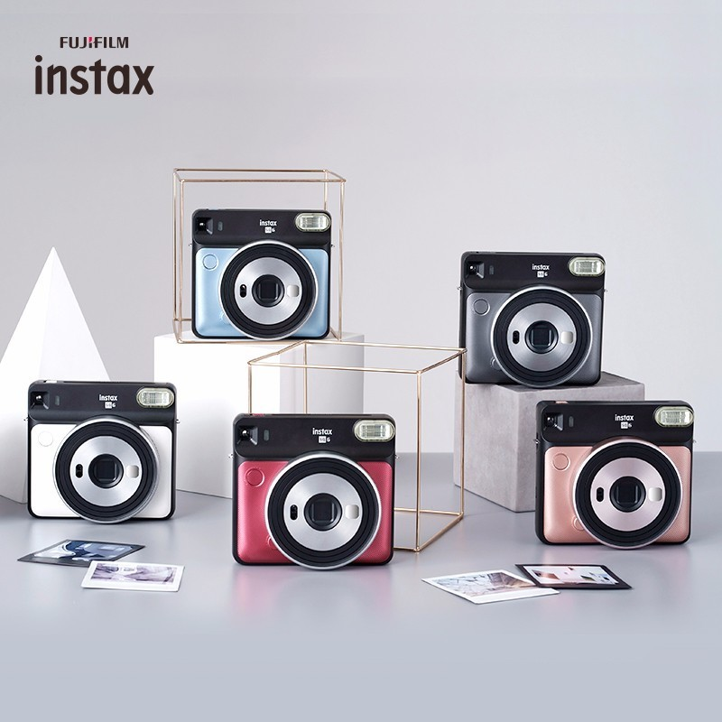 5 couleurs Fujifilm Instax carré SQ6 Film instantané appareil Photo Blush or Graphite gris perle blanc rubis rouge