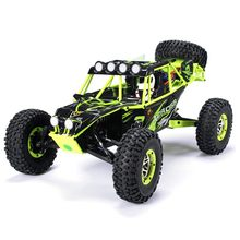 WLtoys 10428 1/10 2.4G 4WD RC Monster Crawler RC Car with LED Light(China)