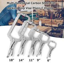 Swivel-Pad Vise Hand-Tool Weld-Clip Woodwork Grip Lock-Jaw Alloy-Steel Plier Tenon Locator