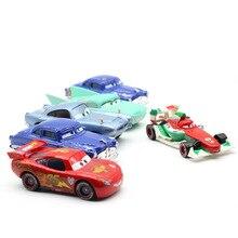 Disney Pixar Cars 2 3 New Lighting Mcqueen Suv Mater Flo Jackson Storm 1:55 Diecast Metal Alloy Toys Kid Christmas Toy Best Gift