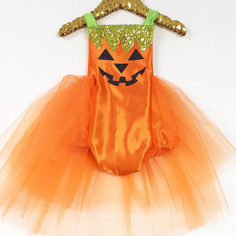 XMAS Cute Newborn Infant Baby Girls Halloween Jumpsuit   Romper   Dress Costume Outfit NEW