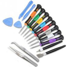 16pcs Cell Phone Opening Pry Mobile Phone Screwdriver Set for Samsung Camera Notebook Lapt