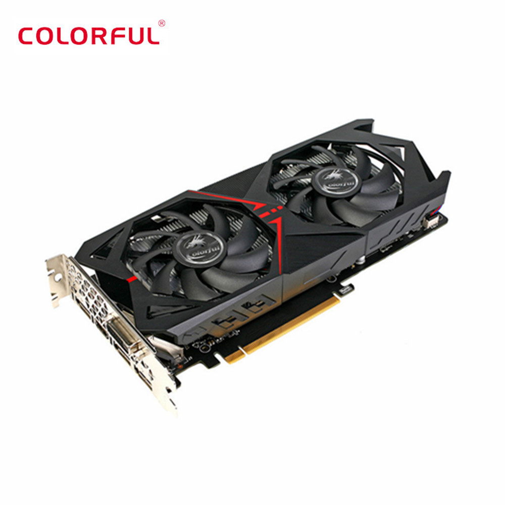 US $293 59 |Colorful NVIDIA GeForce GTX 1060 3G Video Graphics Card GDDR5  8008MHz 16nm 192bit-in Graphics Cards from Computer & Office on