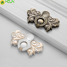 1pc Antique chinese annulus Zinc Alloy for  cabinet pull handle cupboard door knob drawer handles  fireplace door handles Z-0735 modern style zinc alloy bright chrome handles for furniture door cabinet pull handle cupboard door knob drawer handlesz 1397