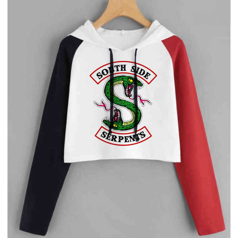 Riverdale Hoodie Sweatshirts South Side Serpents Streetwear Tops Spring Hoodies Female Hooded Harajuku Autumn Winter Sweatshirt