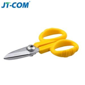 Image 5 - 3 in1Splice Fiber Optic Tool Kits CFS 3 Fiber Optic Stripper+FTTH drop cable stripper +Fiber Optic Kevlar scissors