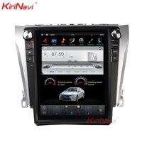 KiriNavi вертикальный автомобильный сенсорный экран в стиле Tesla стиль 12,1 дюймов Android 7,1 автомобильный Радио для автомобиль Toyota Camry мультимедийна