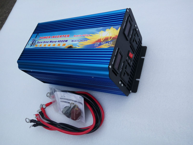 off grid solar <font><b>inverter</b></font> pure sine wave power <font><b>inverter</b></font> <font><b>12v</b></font> 220v <font><b>4000w</b></font> for household image