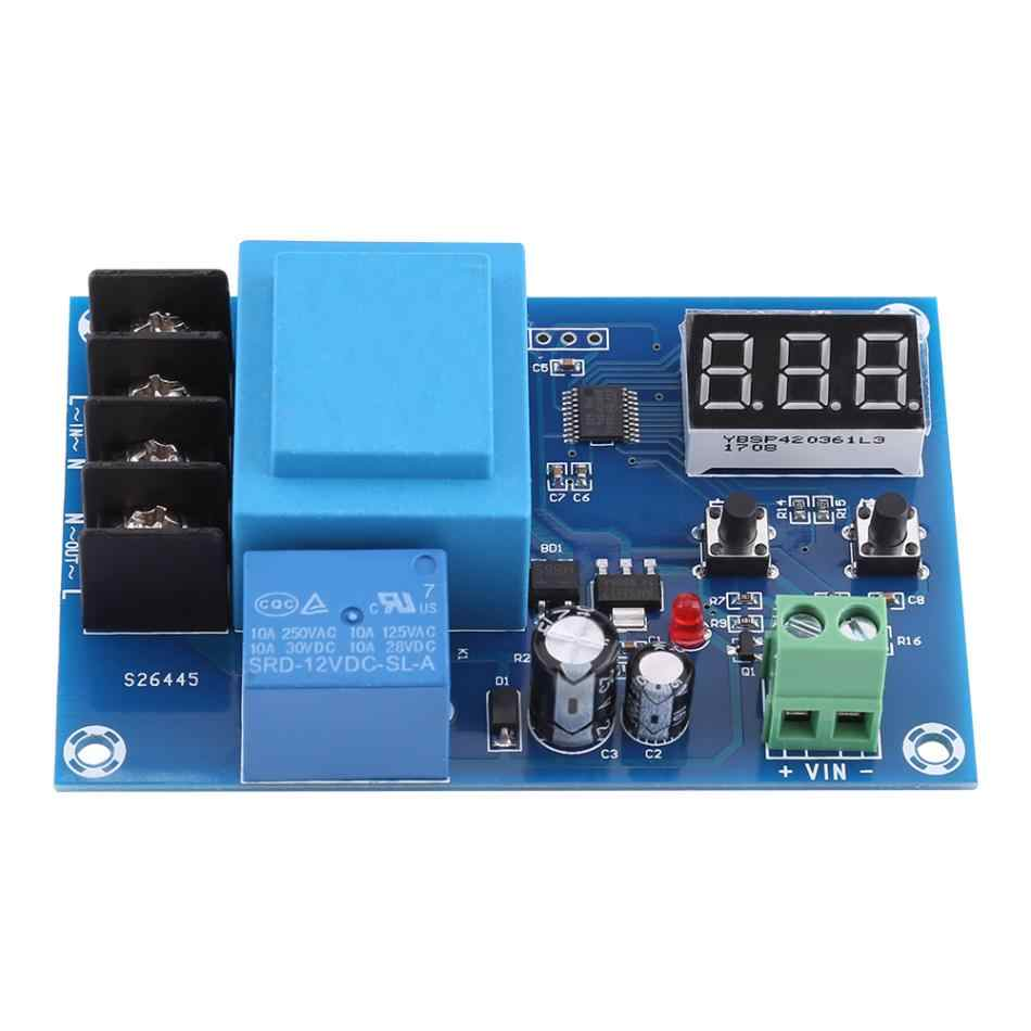 220V Lead-acid Lithium Storage Battery Charger Control Module Storage Battery Charging Controller Switch Protection Board Hot