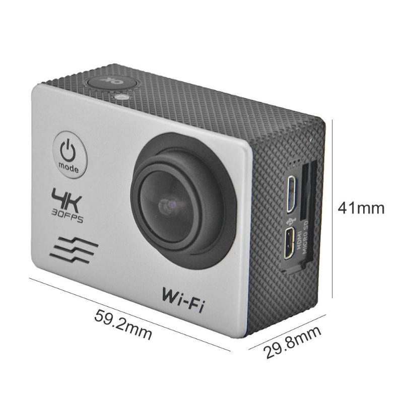 Caméra de sport SJ8000B 4 k WIFI À Distance caméra d'action 1080 p HD 16MP 4X GO PRO Style Casque Cam 30 m Étanche sport caméra de recul