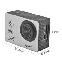 Sport Camera SJ8000B 4k WIFI Remote Action camera 1080p HD 16MP 4X GO PRO Style Helmet Cam 30m Waterproof Sports DV Camera