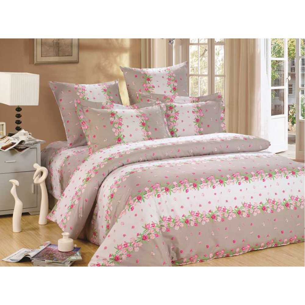Bedding Set SAILID A-142 cover set linings duvet cover bed sheet pillowcases TmallTS colorblock striped print sheet set
