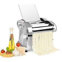 Electric Noodle Press making Machine Spaghetti Pasta Maker Commercial Stainless Steel Dough Cutter Dumplings Roller for home use