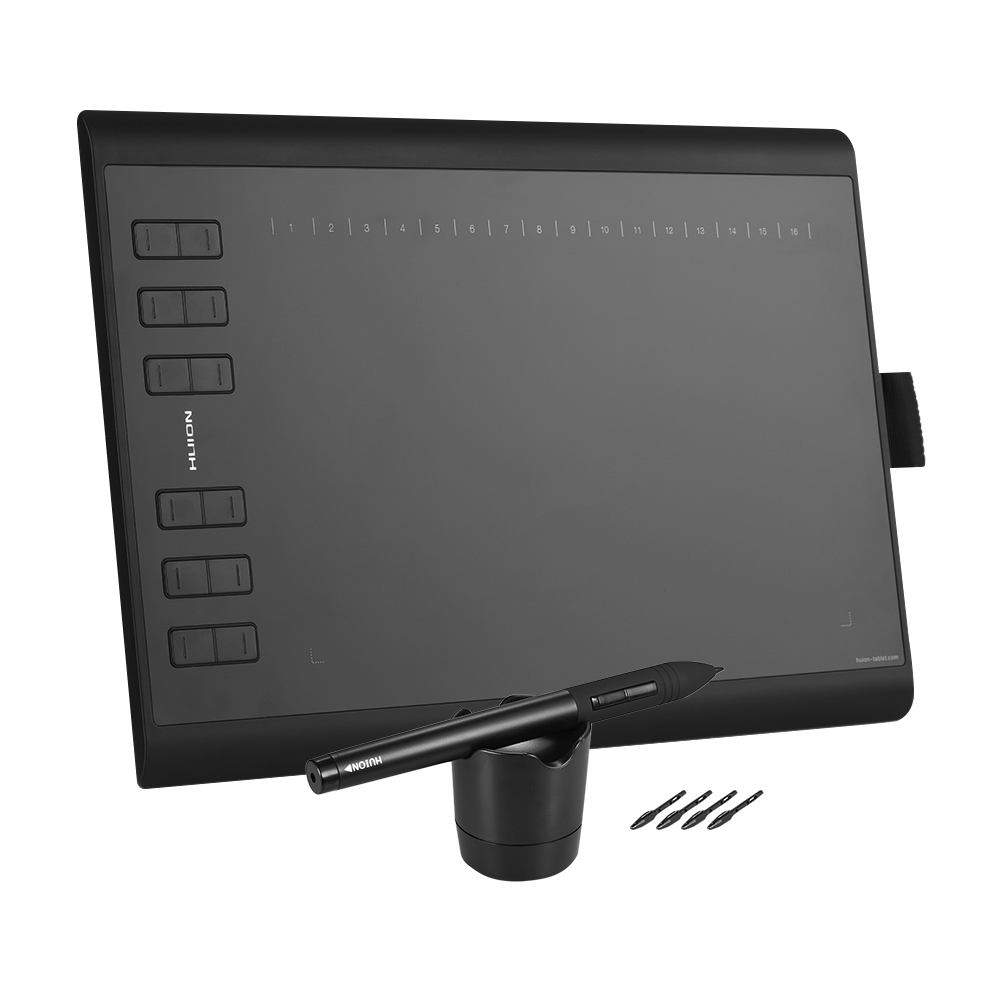 HUION 1060PLUS Portable dessin graphique tablette 10