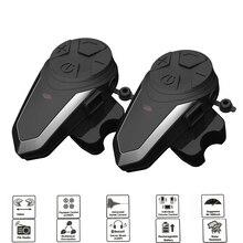 BT S3 1200M Bluetooth Del Casco del Motociclo Cuffie Intercom per I Piloti Wireless Intercomunicador Interphone MP3 FM