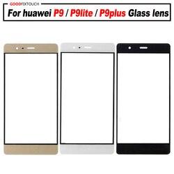 Для Huawei P9 P9 плюс G9 P9Lite P9Plus сменная Передняя стеклянняя панель ЖК-дисплея стеклянная крышка объектива EVA-L19 VIE-L09 Ви-129