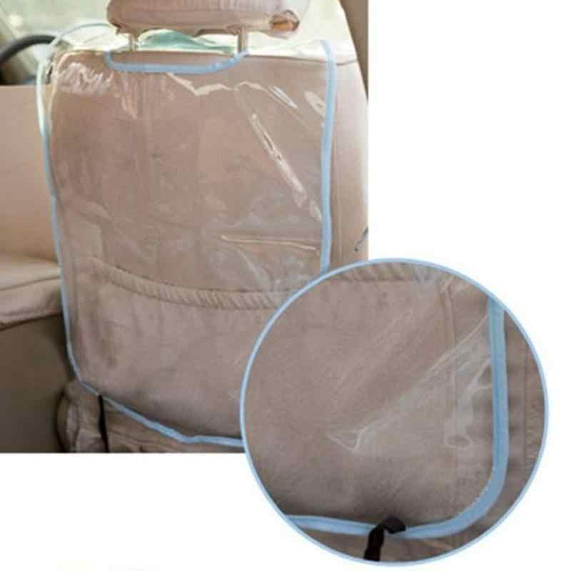 Автомобильный уход за сидением, Задний защитный чехол, чехол для автомобиля, аксессуары для детей, Детский коврик, грязеотталкивающий пластиковый анти-кик коврик
