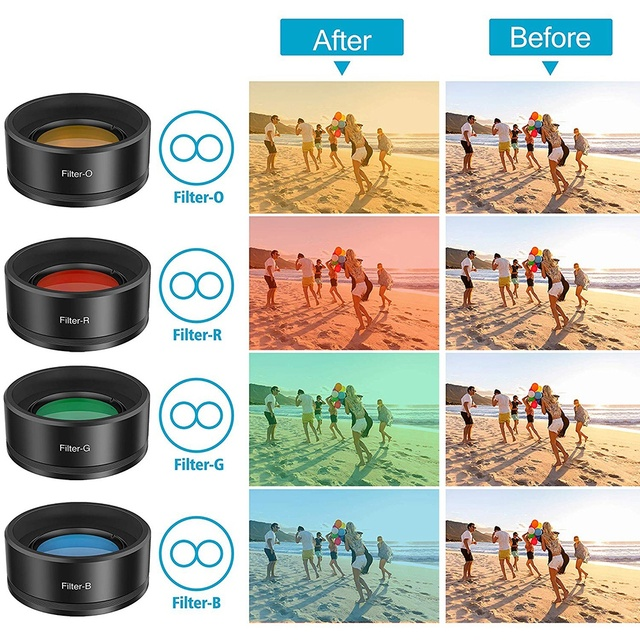 11-in-1 lenses Set for Iphone & Android