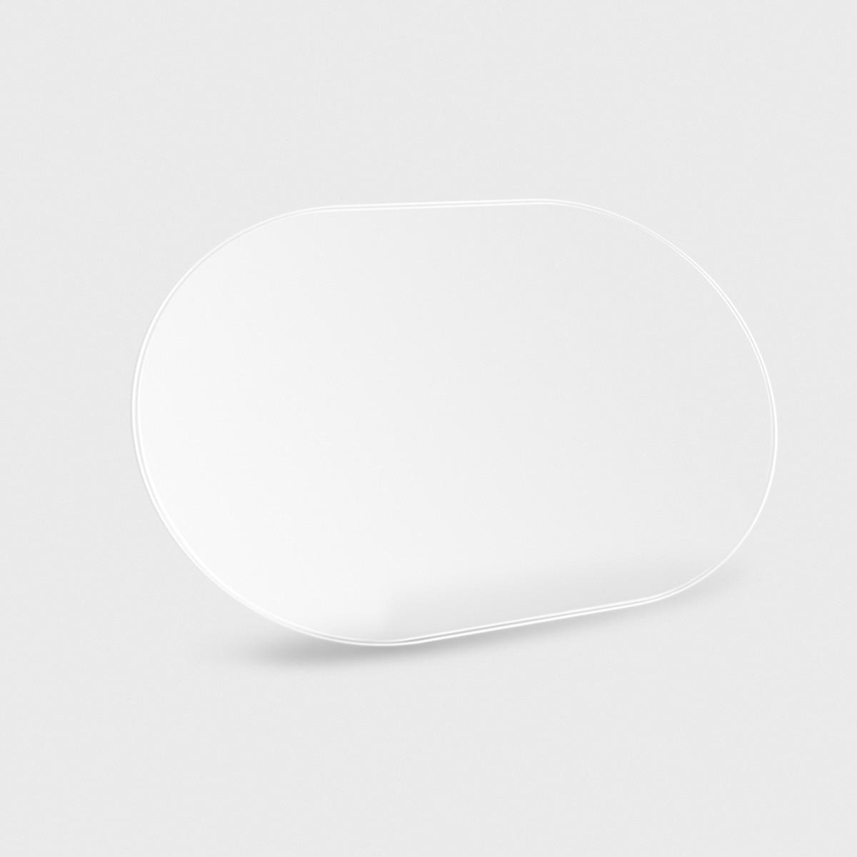 Image 3 - Carro anti névoa de água filme anti nevoeiro à prova de chuva  espelho retrovisor película protetora 1 par 140*100mm carro anti névoa  de água filmeCapa p/ espelho retrovisor