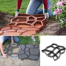 "Squirrel stepping stone plastic mold 12/"" x 2/"" heavy duty garden mould"