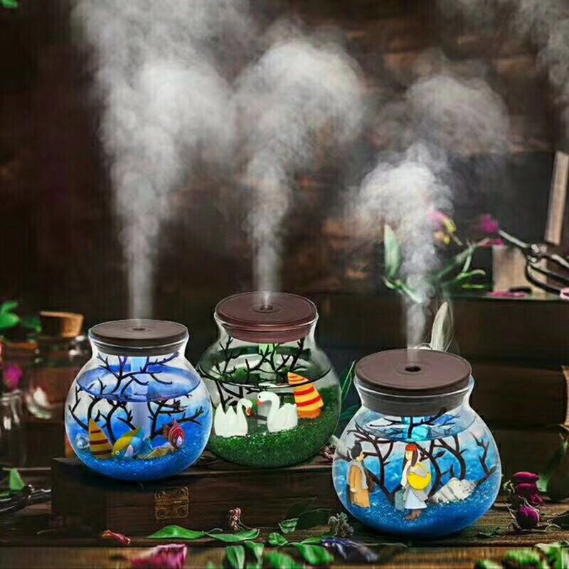 Manual Make Tiny Scenery Ecology Bottle Humidifier Originality Magic Ecology Bottle HumidifierManual Make Tiny Scenery Ecology Bottle Humidifier Originality Magic Ecology Bottle Humidifier