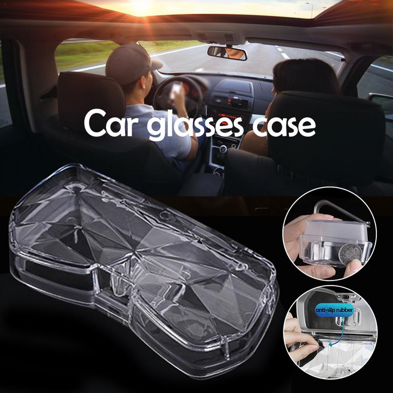 Third Generation Car Glasses Case Car Sun Visor Paper Glasses Clip Multi Function Car Glasses Storage Box Interior Accessories in Sun Visors from Automobiles Motorcycles