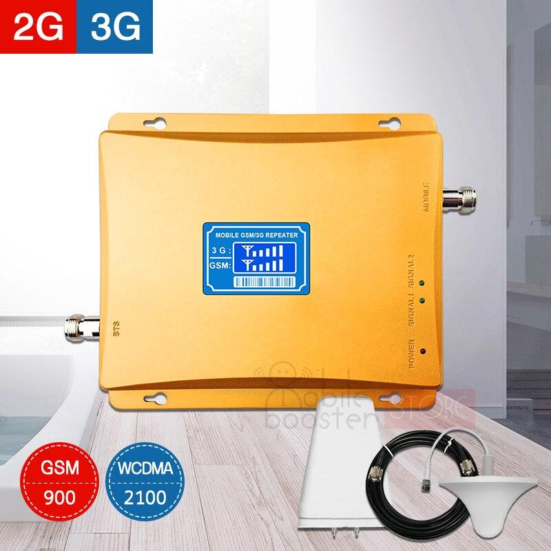 900 2100 répéteur d'amplificateur de signal cellulaire gsm 3g umts répéteur de signal de téléphone portable pour MTS, MegaFon, Beeline, Tele2