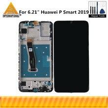 """الأصلي Axisinternational 6.21 """"لهواوي P الذكية 2019 POT-LX1/POT-LX1AF شاشة LCD مع الإطار لوحة اللمس محول الأرقام"""