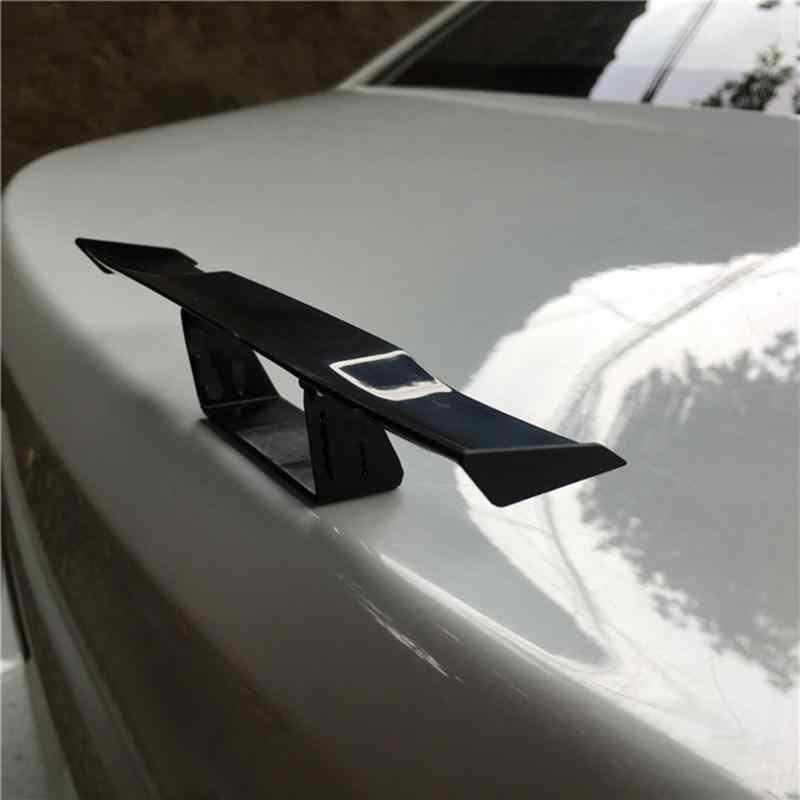 سبويلر خلفي صغير للسيارة من البلاستيك ، نموذج صغير ABS عالمي بدون انثقاب ، زينة الذيل ، اكسسوارات السيارات