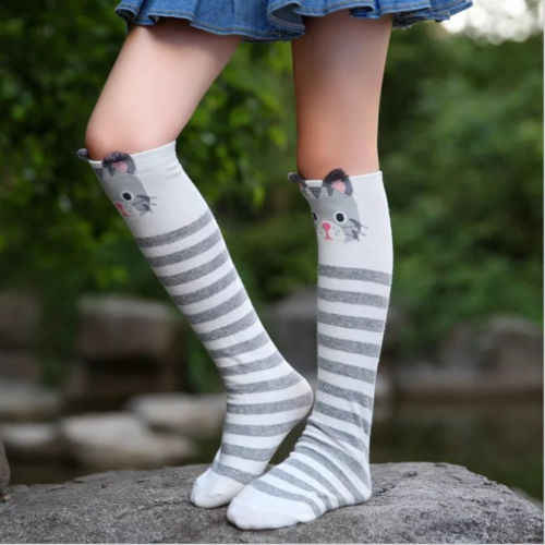 55b4baea5 ... Christmas Teenage Children Knee High No Heels with bow School Socks 3 -10  years Hot ...