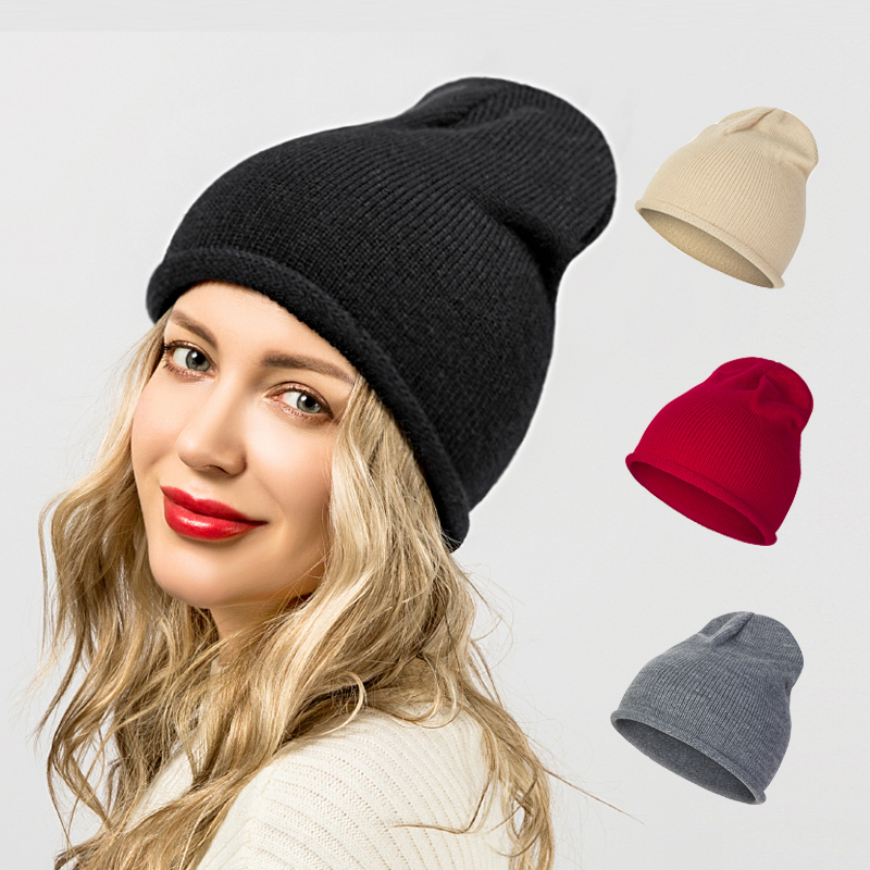 Hedging cap  Winter Knitting Wool Warm Hat Daily Slouchy hats Beanie Skull Cap