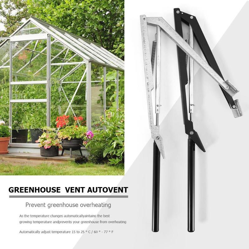 Ouvre-fenêtre par serre automatique   Thermosensible à la chaleur solaire, ouverture automatique de fenêtre agricole