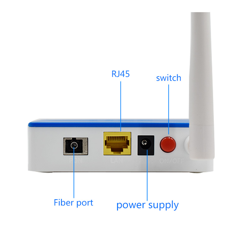Image 3 - EPON OLT FTTH EPON ONU EPON 1port ONU EPON 1.25G PPPOE  with WIFI Fiber Device to User Side Wireless wifi Router 1pcs-in Fiber Optic Equipments from Cellphones & Telecommunications