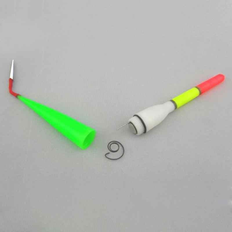 Fishing Plastic Float Bobber Cork Red Flashing with LED Light Night FishingHD