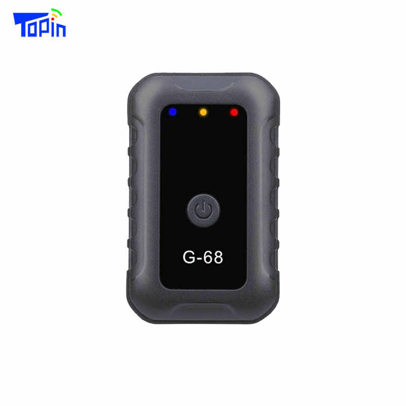 Advanced Process Micro Hidden Locator GSM Wifi LBS G68 Super Mini GPS Tracker for Tracking Kids Children Elderly Student Vehicle