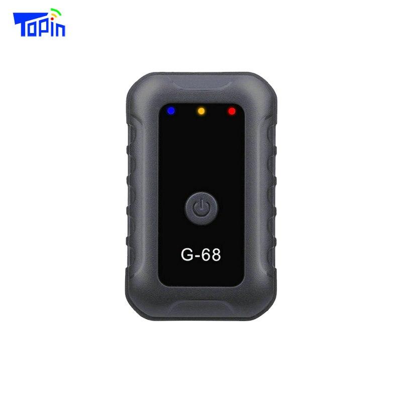 Супер мини GPS-трекер LBS G68 для отслеживания детей, детей и пожилых людей