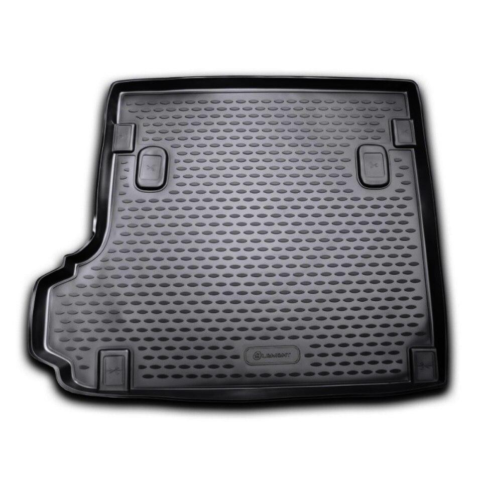 цены на For BMW X3 E83 2003-2010 black car trunk mat Element NLC0516B12  в интернет-магазинах