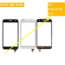 10Pcs/lot For Huawei Ascend G7 G7-L01 G7-L03/TL00/UL10/UL20 Touch Screen Touch Panel Sensor Digitizer Front Outer Glass Lens купить недорого в Москве