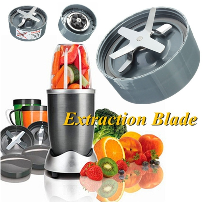 Portable Stainless Steel Juicer Accessories Cross Knife Blade Blender