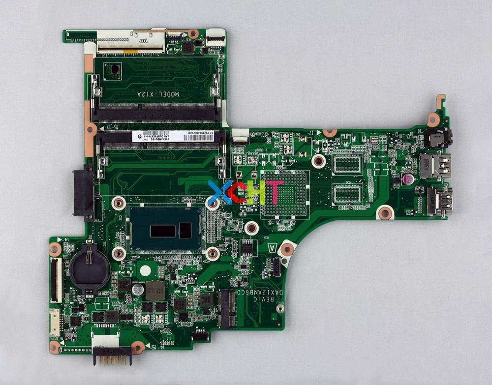 For HP 14 AB Series 14T AB000 806830 001 806830 501 806830 601 UMA I3 5010U DAX12AMB6D0 Laptop Motherboard Mainboard Tested