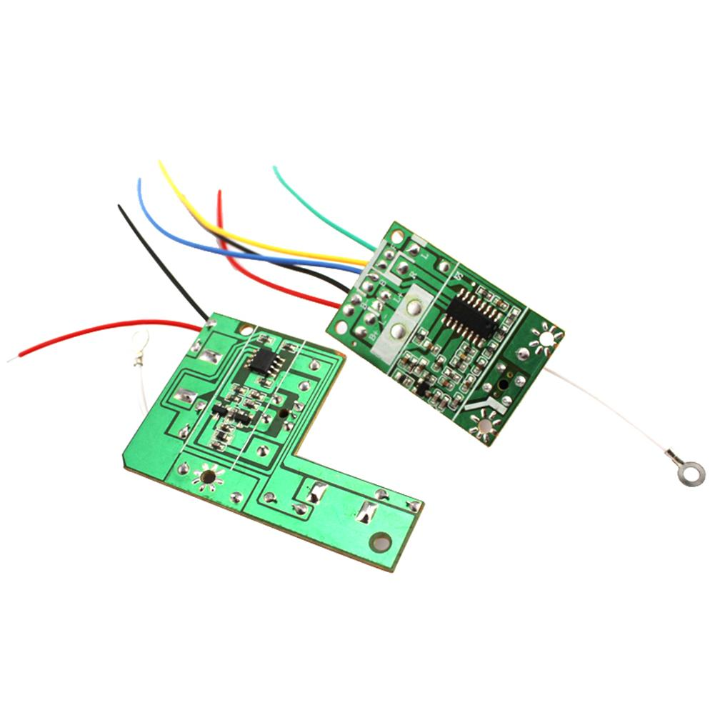 27 <font><b>MHZ</b></font> Two Channels <font><b>40</b></font> <font><b>MHZ</b></font> Four-way 2.4G 8 Channels Remote Control Module Remote Control Car Toy Accessories image