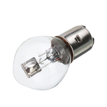 1pc Motorcycle Headlight Bulb 12V 35W 10A B35 BA20D White ATV Moped Scooter High brightness