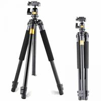 QZSD With For Camera Canon Alloy Q308 Mini Tripod Accessories Photographic Tripods Portable Professional Gopro For Aluminum