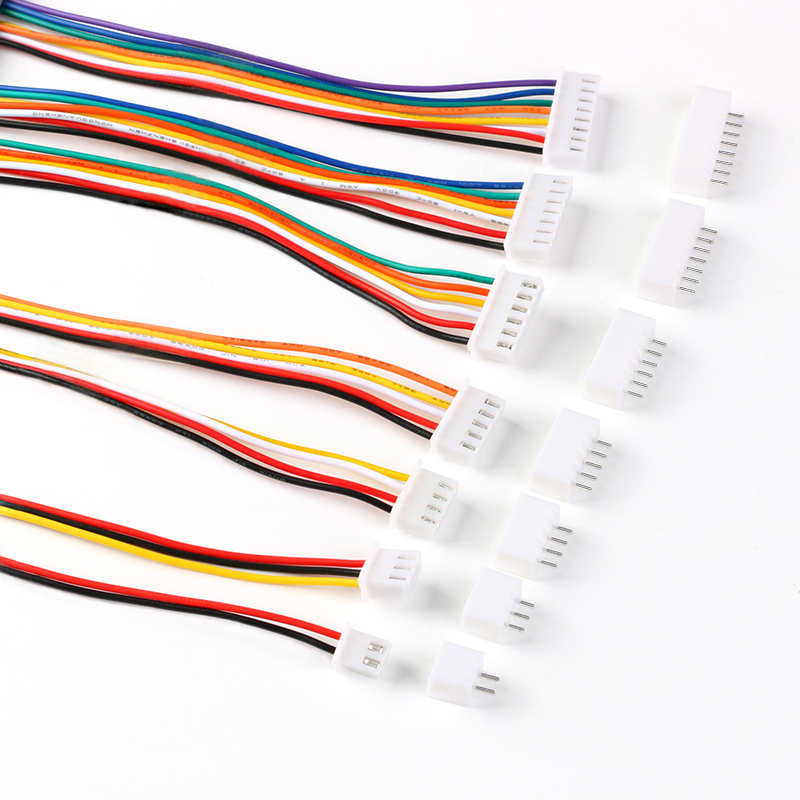 10Sets JST XH2.54 XH 2.54mm Wire <font><b>Cable</b></font> Connector 2/3/4/5/6/7/8/9/10 <font><b>Pin</b></font> Pitch Male Female Plug Socket 30cm Wire Length 26AWG image