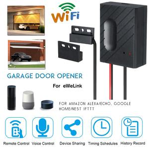 For Ewelink WiFi Switch Garage Door Controller for Car Garage Door Opener APP Remote Control Timing Voice Control Alexa Google